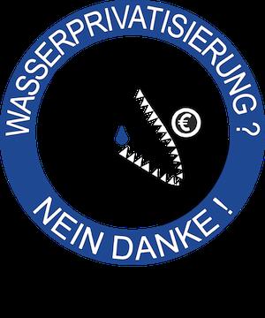 Logo Berliner Wassertisch - Wasserprivatisierung? Nein Danke! www.berliner-wassertisch.info