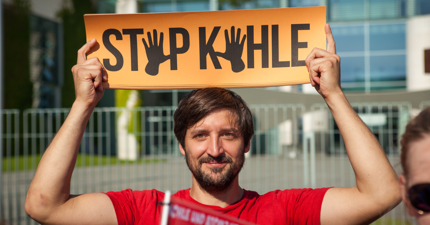 Stopp Kohle! Fotos von Jakob Huber/Campact. CC-BY-ND 2.0