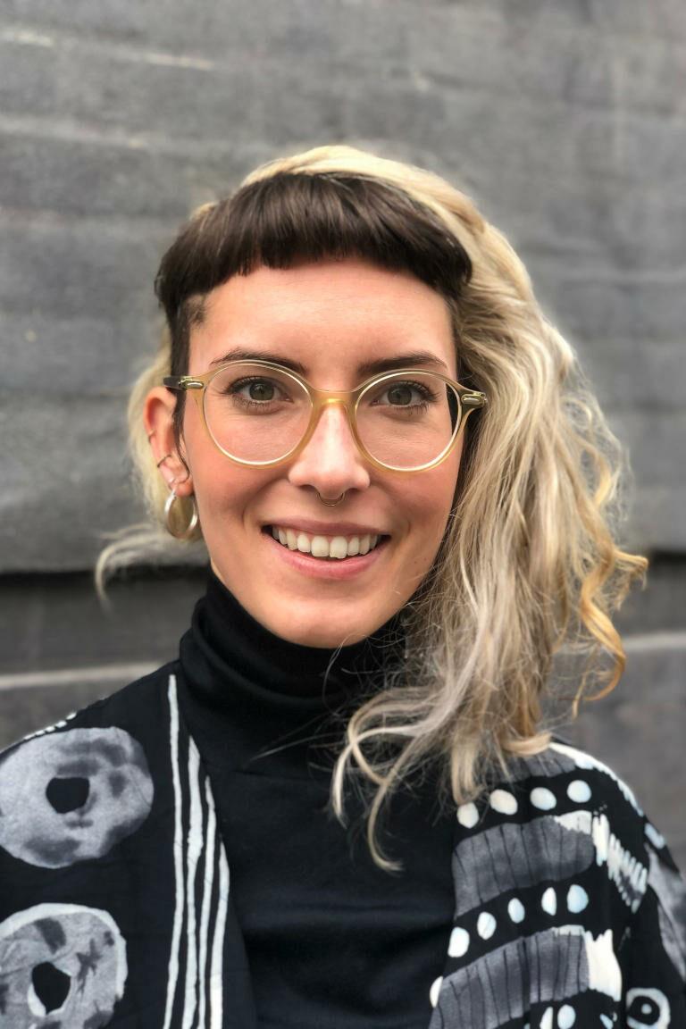Profilfoto Clara Koschies, Pressesprecherin Campact und WeAct