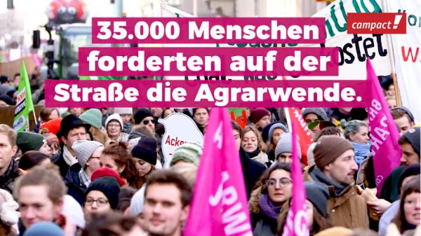 Wir haben es satt: Berlin fordert die Agrarwende!