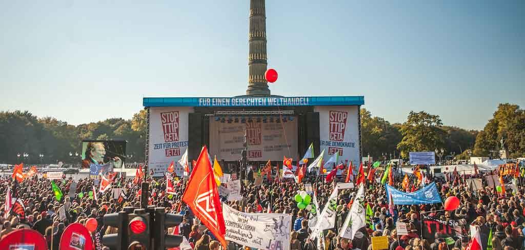 Erfolge von Campact e.V. - Über 2 Millionen Menschen streiten gemeinsam für progressive Politik / Foto: Campact e.V.