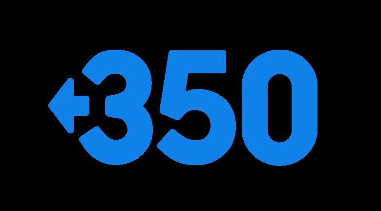 Logo 350.org