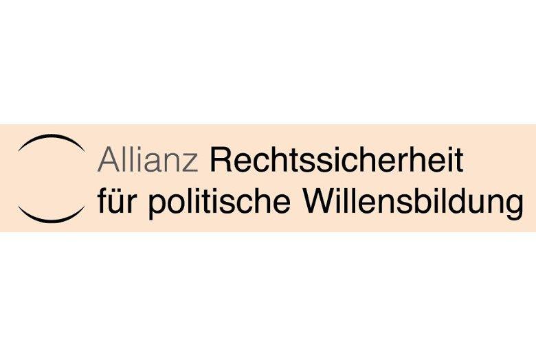 Logo Allianz Rechtssicherheit für politische Bildung