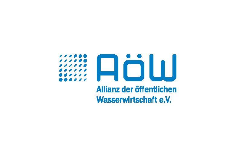 Logo AöW - Allianz der öffentlichen Wasserwirtschaft