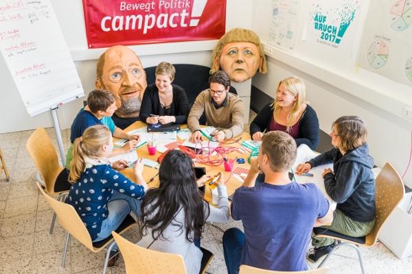 Campact Diskussion am runden Tisch