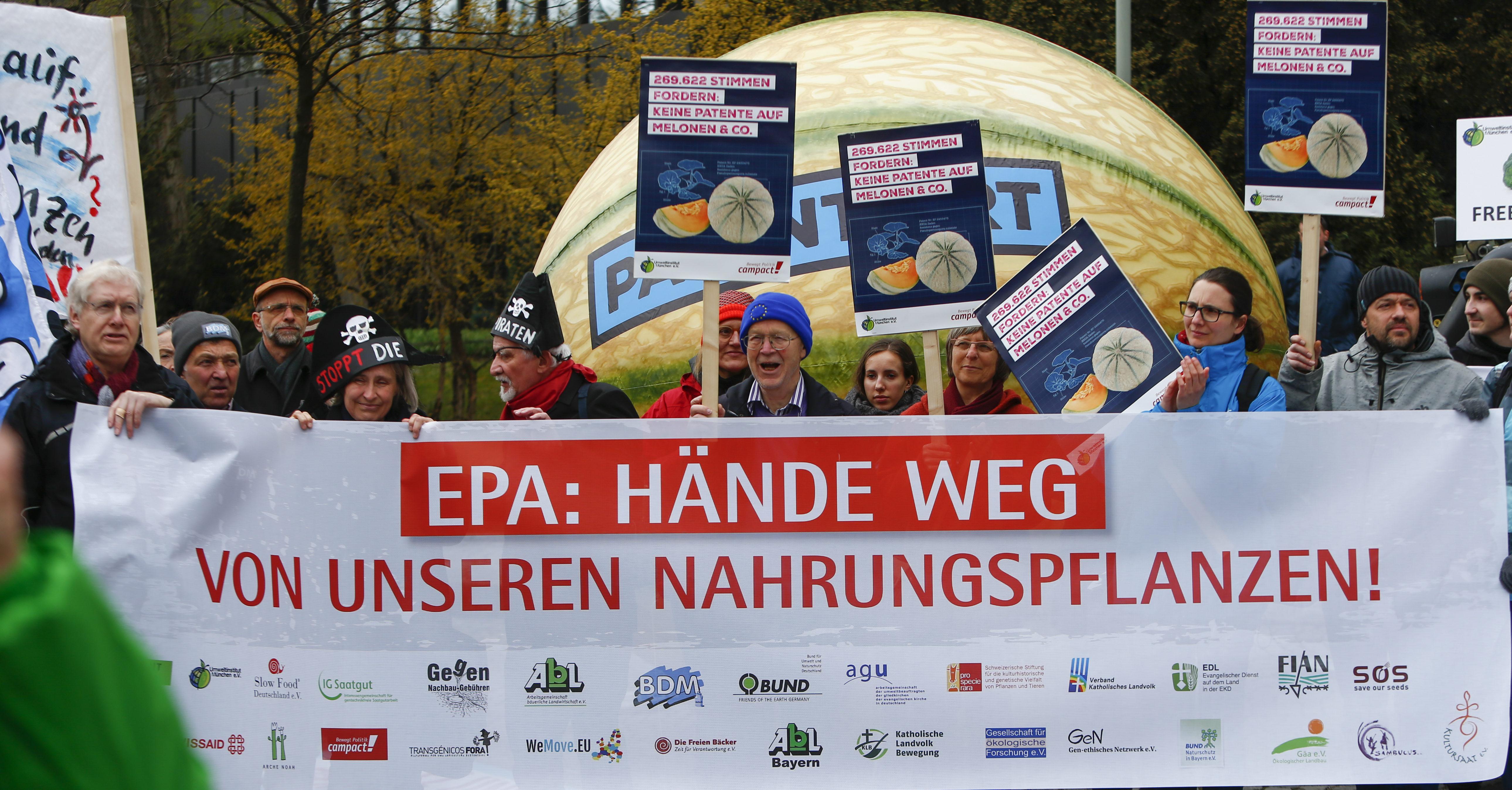 EPA: Hände weg von unseren Nahrungspflanzen