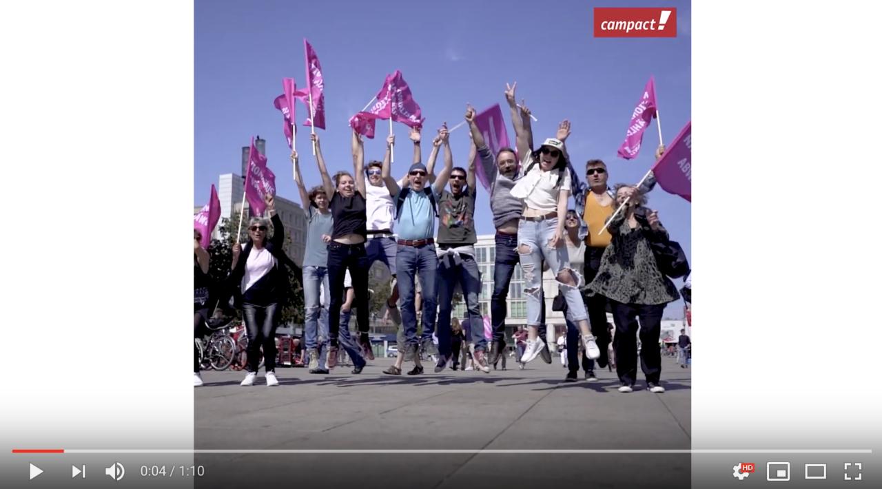 """Demos in sieben Städten: 150.000 Menschen in Deutschland protestieren für """"Ein Europa für alle"""""""