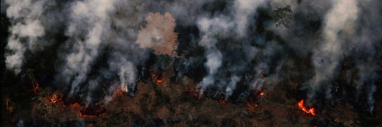 Brennender Amazonas - Mercosur stoppen