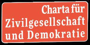 Banner: Charta für Zivilgesellschaft und Demokratie