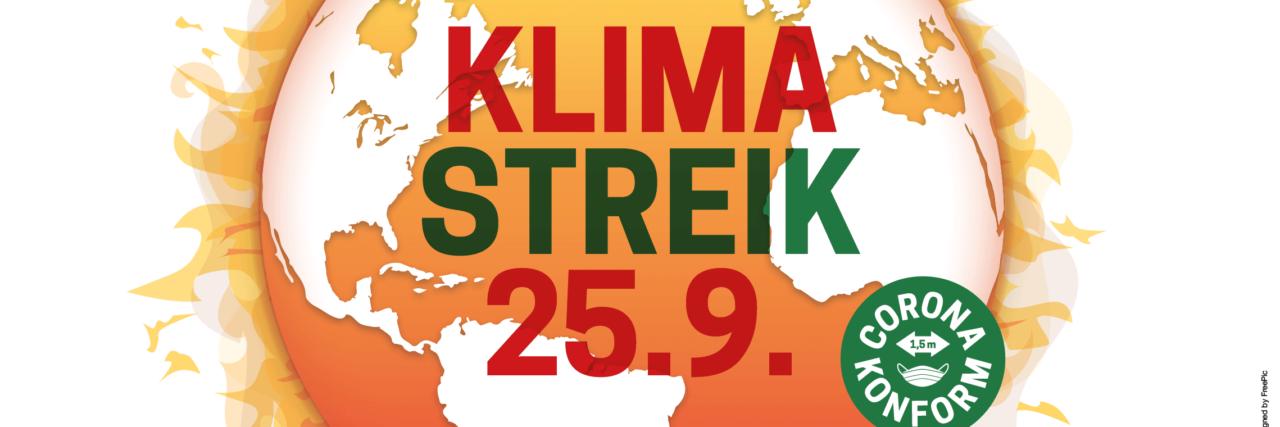 Klimastreik von Fridays for Future am 25. September