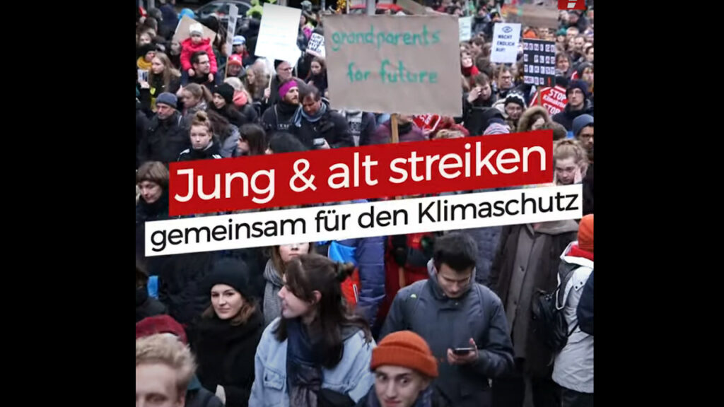 Klimastreik: Fridays for Future im November 2019
