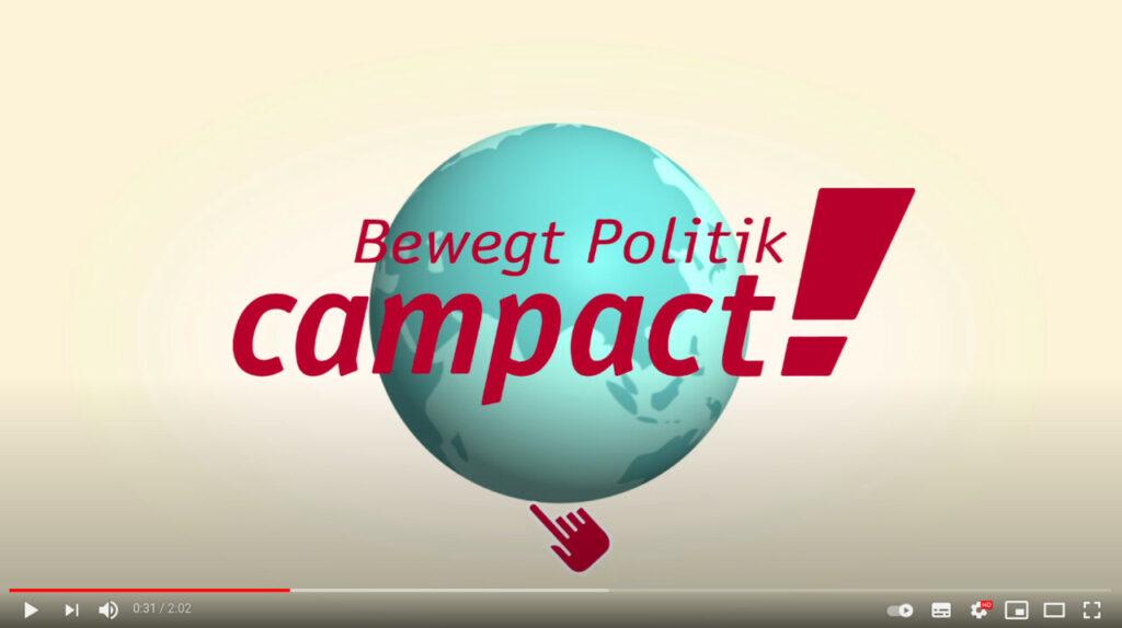 Screenshot YouTube: So funktioniert Campact und so kannst du mit uns Politik bewegen!
