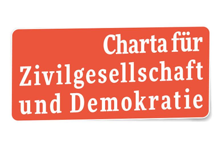 Das Logo der Charta für Zivilgesellschaft und Demokratie