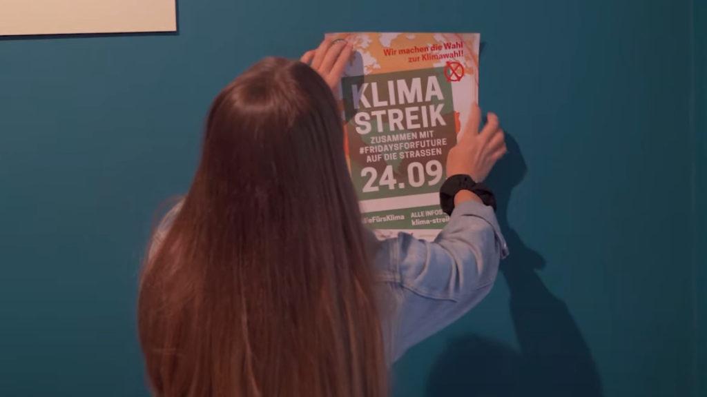 Wecke das Plakatier in dir! Jetzt Materialpaket für den Klimastreik am 24. September bestellen und draufloskleben!